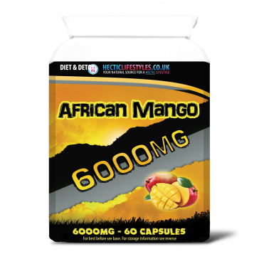 African Mango 6000mg Triple strength (60 capsules)