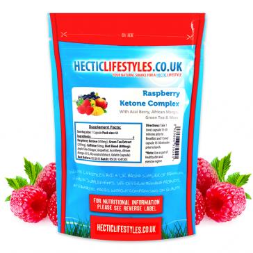 Raspberry Ketone 3500mg superfruit complex (60 Capsules)