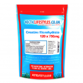 Creatine Monohydrate 750mg (120 capsules)