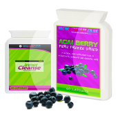 Hectic Lifestyles Pure Acai Berry &amp; Inner Colon Cleanse combo (180 capsules)