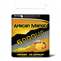 African Mango 6000mg Triple strength (60 capsules)