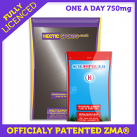 ZMA® 750mg Officially Licenced - One a day capsules with Bioperine® (60 Capsules)