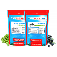 Green Coffee Extract 5000mg & Acai CleanseULTRA combo