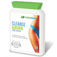Cleanse & Burn Dual Action (60 Capsules)