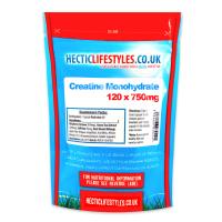 Creatine Monohydrate 750mg (120 capsules)