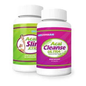 Acai Berry XTRA and Acai Ultra Cleanse Combo