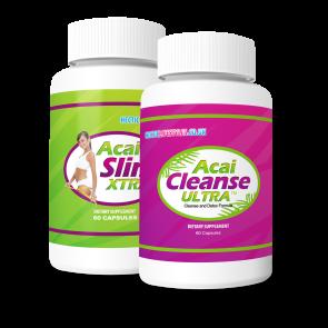 Acai Berry XTRA and Acai Ultra Cleanse Combo