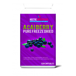 Hectic Lifestyles™ Pure Freeze Dried Acai Berry 120 x 600mg